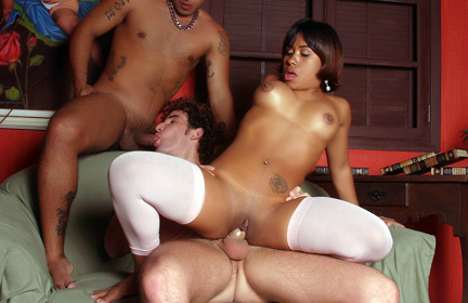 Bisexual Latina Grinds on Top