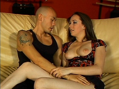 Ann Parker really brings out the goodness in this hot bisexual scene. She\'s pretty and she has a curvy body that she enjoys showing off to turn guys on. Watch her captivate two bisexual guys with her alluring beauty and take part in a hot sandwich action.video